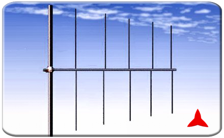 ARL0105.1 Logarithmic  directional antenna 74-108 MHz Protel