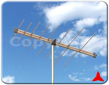 ARL170R/F230XZ Radiomonitoring VHF - Measurements log periodic directional antennas 170-230 MHz Protel