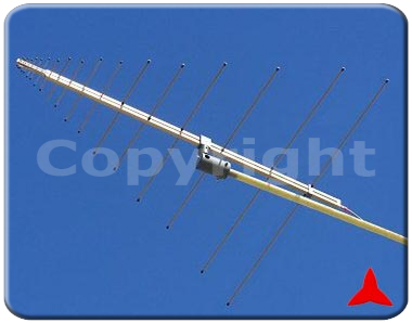 ARL70RF2500XZ Radiomonitoring VHF UHF SHF - logarithmic Measurements antennas folding elements 70-2500 MHz Protel