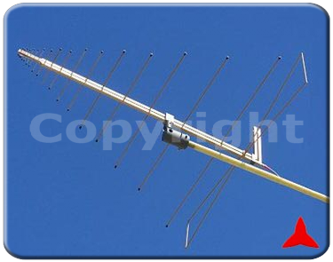 ARL70V2500XZ Radiomonitoring VHF UHF SHF - directional log periodic Measurements antennas fixed elements 70-2500 MHz
