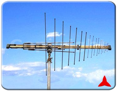 ARL87R/F900XZ Radiomonitoring - log periodic logarithmic Measurements antennas 87.5 - 860 MHz Protel