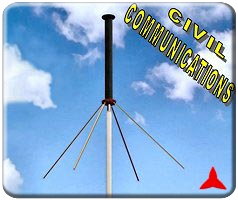 ARO313XZ Radiomonitoring TBT civil band - omnidirectional Measurements  antennas ground plane 154 - 174 MHz