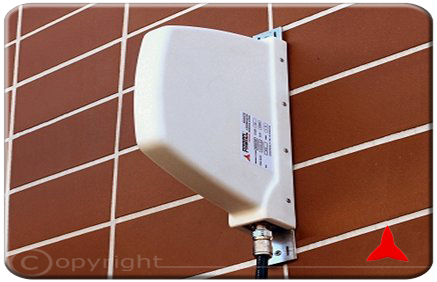 ARP4512XZ Directional Antenna for the TV broadcasting band 470-860 MHz Protel