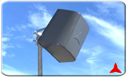 ARP45410. Z Panel antenna directional for UHF band 470 - 860 MHz 10 dBi Protel