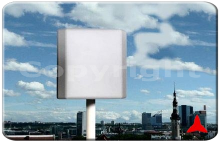 ARP689417 directional Panel antenna High Gain, band 3g GSM-R umts  dcs gsm lte 4g 698 - 960 MHz 1710 – 2700