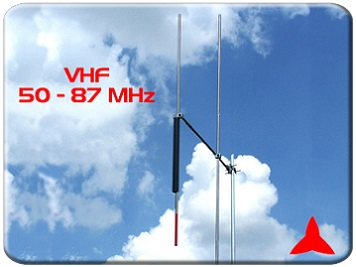 Directional Antenna 2 elements 50-87 Mhz Protel ARYCKM-A-25X