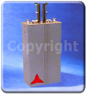 Band-Pass double cavity filter FM 87.5 - 108 MHz