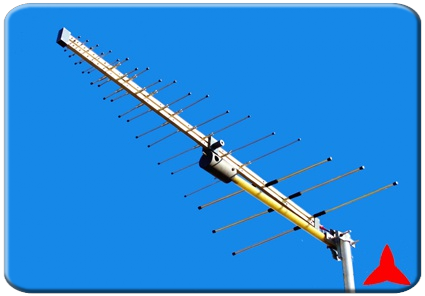 ARL150R/F1300XZ Radiomonitoring antenna - Measurements directional logarithmic antenna 150-1300 MHz Protel
