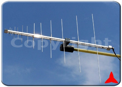 ARL170R/F1000XZ Radiomonitoring broadcasting UHF VHF - log periodic  Measurements antennas 170-1000 MHz Protel