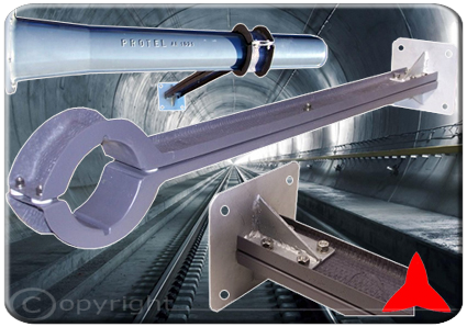 ARW100 Special Fixing Bracket TUNNEL and HIGH SPEED