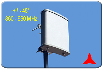 ARPX629 Panel directional antenna 860-960 MHz LTE GSM GSM-R
