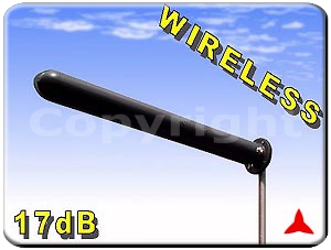 ARB92417 MIMO Directional antennas with double independent feeding +- 45°  2300 - 2600 MHz 18 dBi